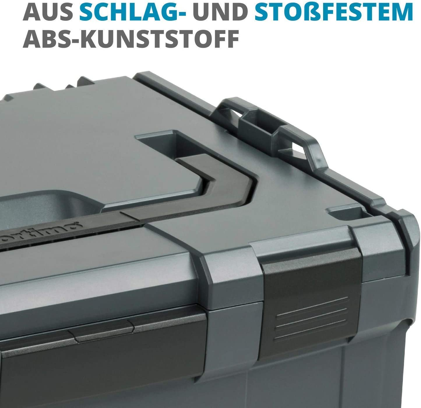 Bosch Sortimo I-Rack Actif Anthracite en Stock avec Ls Tiroir 72 Noir
