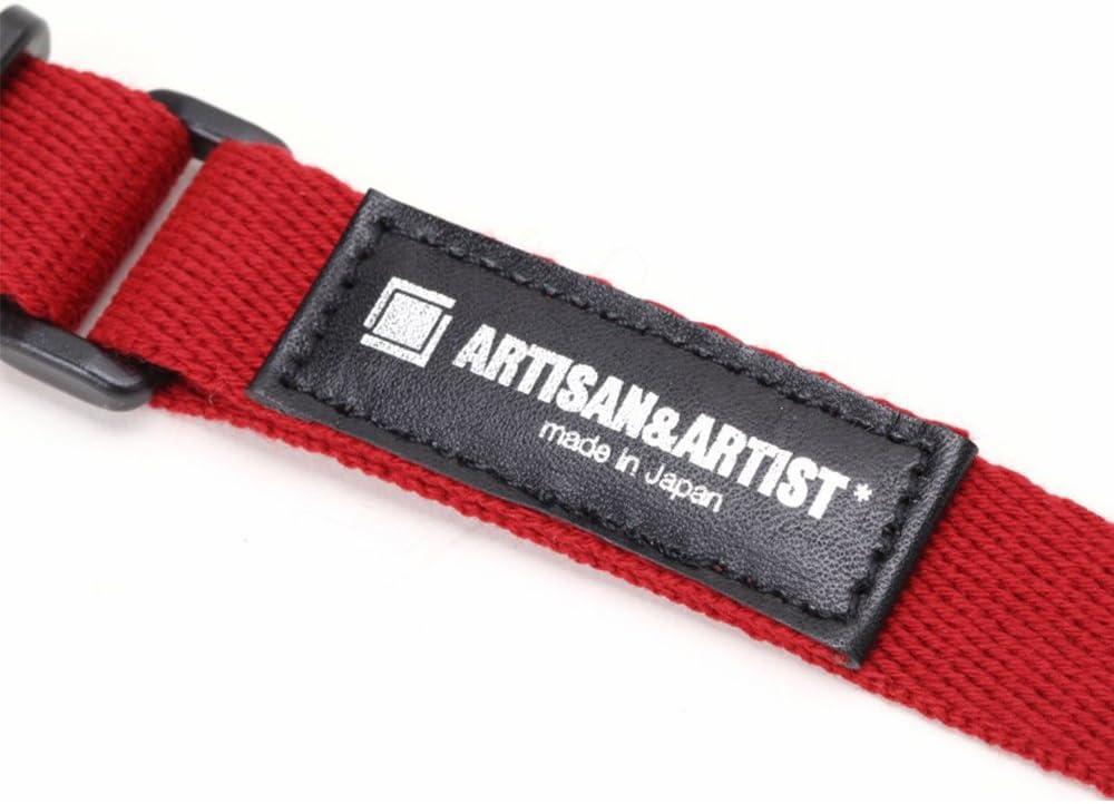 Artisan /& artist cámara cinturón armazón correa Strap acam 111 rojo Red