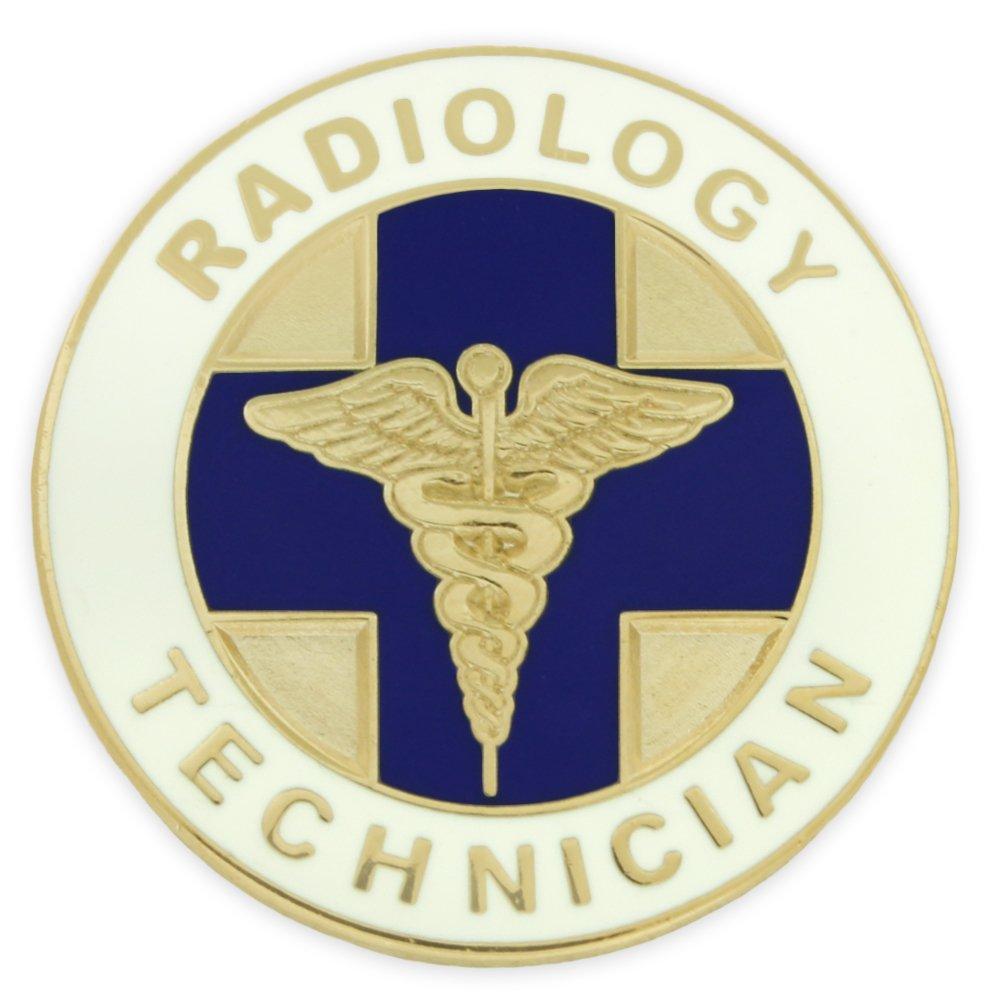 PinMart Radiology Technician Caduceus Medical Lapel Pin