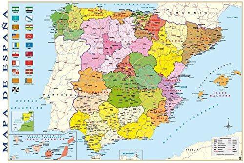 Poster Mapa España: Amazon.es: Hogar