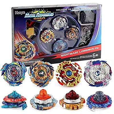 Bay Battle Burst Avatar Attack Battle Set with Two String Launcher and Grip Starter Set: Toys & Games