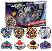 Bay Battle Burst Avatar Attack Battle Set with Two String Launcher and Grip Starter Set