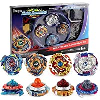 Bay Battle Burst Avatar Attack Battle Set with Two String Launcher and Grip Starter...