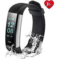 Fitness Tracker, Husan actividad Tracker reloj pulsómetro