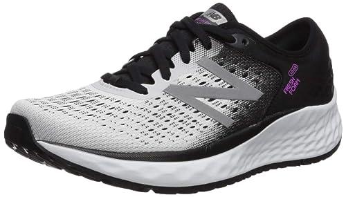 New Balance Fresh Foam 1080v9, Zapatillas de Running para Mujer, Blanco (White/Black/Voltage Violet Wb9), 36 EU: Amazon.es: Zapatos y complementos