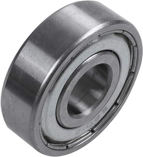 metal Rodamiento de bolas profundo Andifany 6201Z 12 x 32 x 10 mm sellado