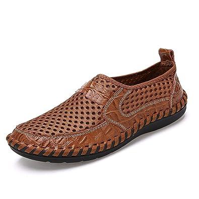Respirant Homme De Pied Plage Slip Chaussure On Maille Sandales n0vm8wON