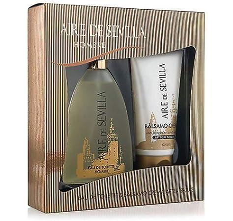 Set Perfume Aire de Sevilla para Hombre - 2 Elementos: Amazon.es ...