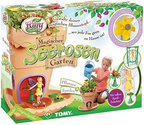 My Fairy Garden Spielzeugset, Garten zum selber Pflanzen & Spielen, Magischer Seerosen-Garten für Kinder ab 4 Jahre, inkl. Grassamen, Kreativset Mädchen, Spielzeug für Kleinkinder