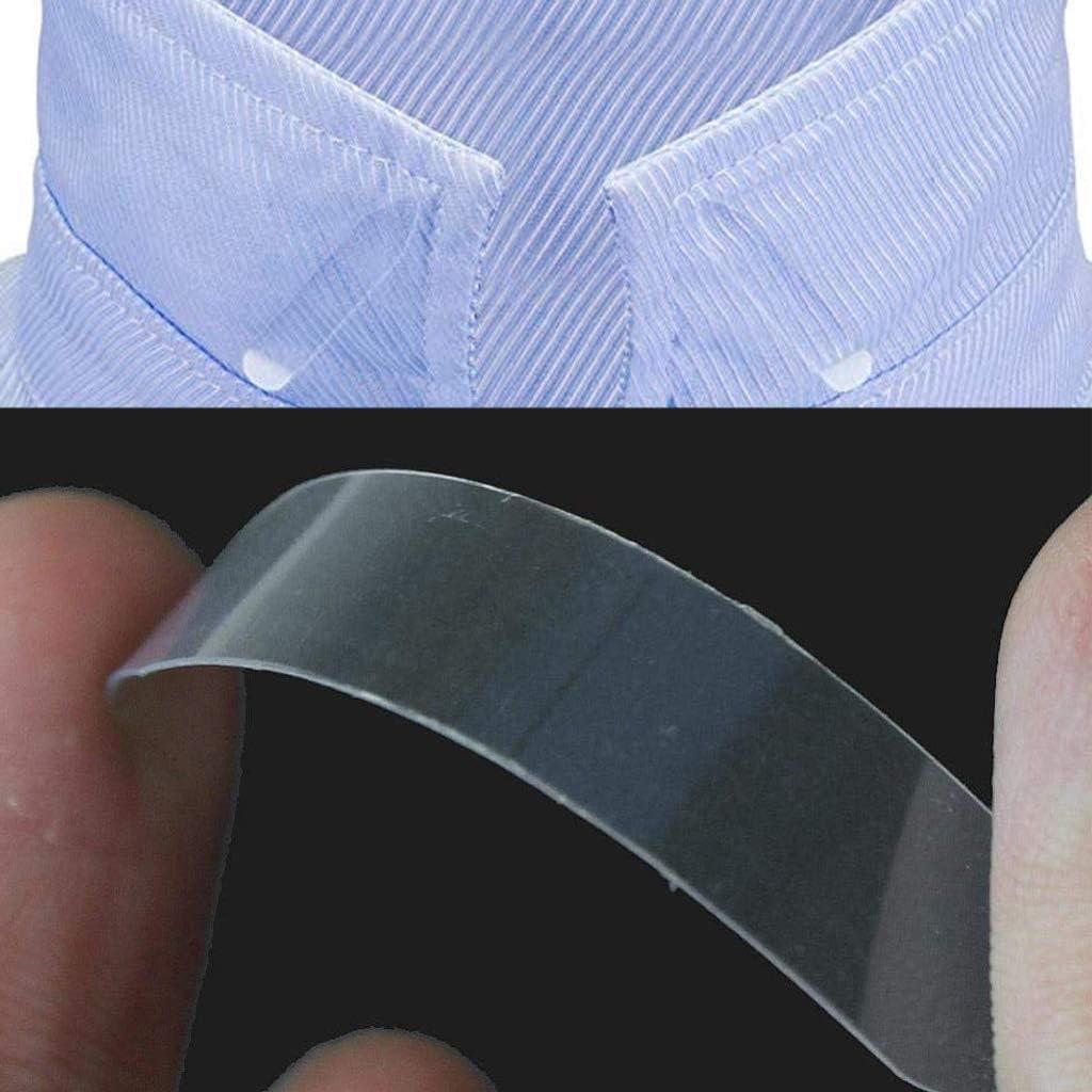 LEBQ 600 Piezas de Ballenas de Cuello de Camisa de Plástico para Camisas de Hombres, 6 Tamaños Mixtos (Transparente): Amazon.es: Hogar