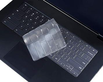Amazon.com: Funda de teclado transparente para portátil ...