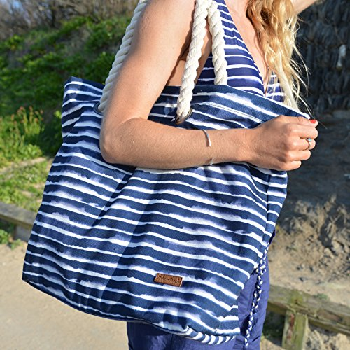 Blue Strandtasche Blau Beach Urban Tamri 56 cm YnUxT7R