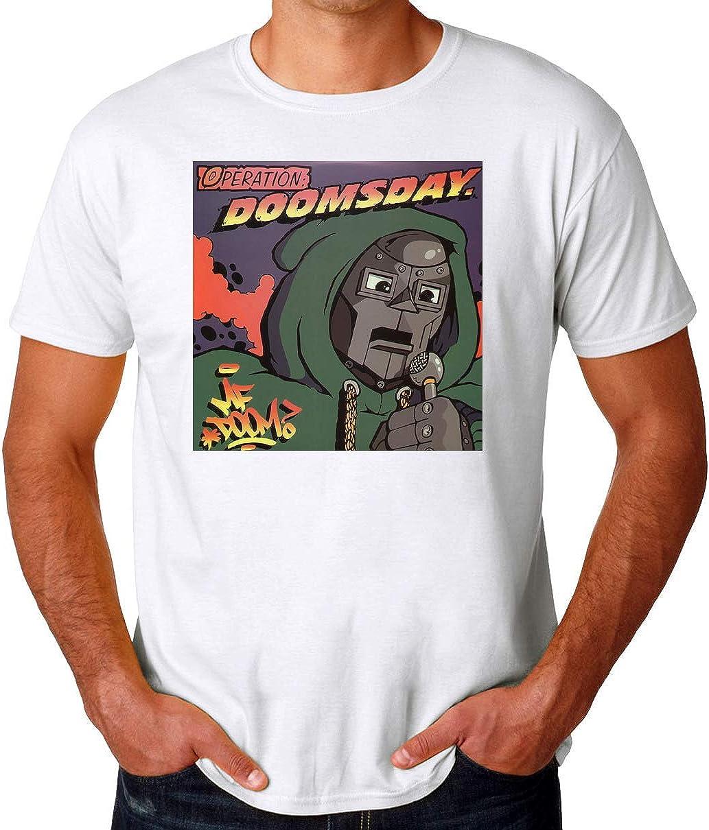 TeeWorld MF Doom Operation Doomsday Logo Camiseta para Hombres: Amazon.es: Ropa y accesorios
