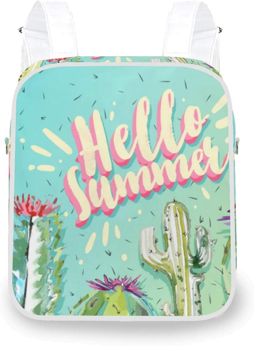 NIKIVIVI Hello Sunshine Glitter Slogan VectorCrossbody Shoulder BagConvertible Rucksack