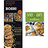 img - for Bosh vegan cookbook [hardcover], vegan richa's everyday kitchen and vegan cookbook for beginners 3 books collection set book / textbook / text book