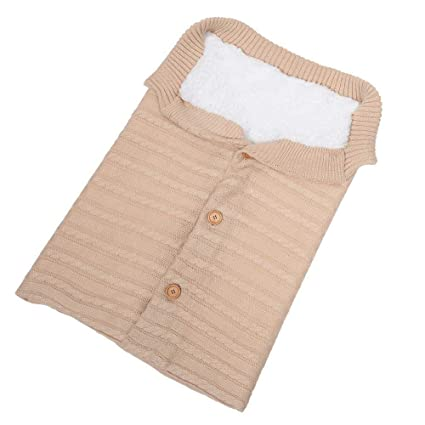 Saco de Dormir Manta Envolvente de Invierno para Bebé Recién Nacido Swaddle Wrap Manta Multiusos Universal