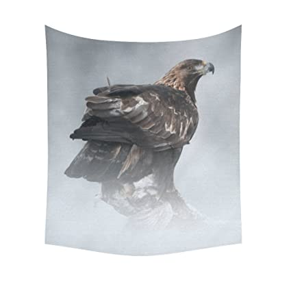 Amazon INTERESTPRINT Bird Eagle Home Decor Tapestries Wall Art