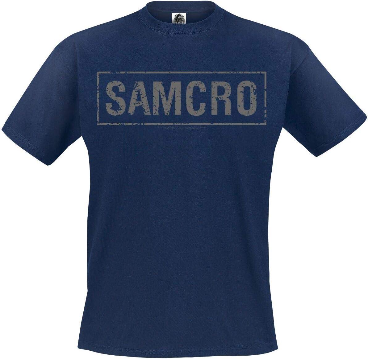 Zonen van Anarchy Samcro T-Shirt Navy S