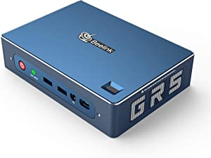 Beelink GTR Mini PC Windows 10 Pro,AMD Ryzen 5 3550H Processor(up to 3.7 GHz) 16GB DDR4 512GB NVMe SSD,Radeon Vega 8 Graphics,WiFi 6,Bluetooth 5.0,Dual Gigabit Ethernet,Gaming PC