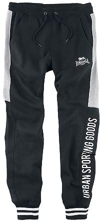 Lonsdale London Legbourne Pantalones Casuales, Negro, Medium para ...