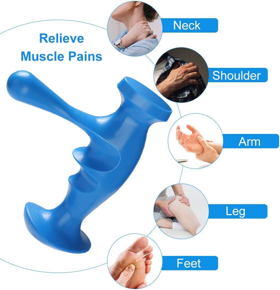 Migleo Deep Tissue Massage Tool, Effective Acupressure, Trigger Point Pressure Massage: Health & Personal Care