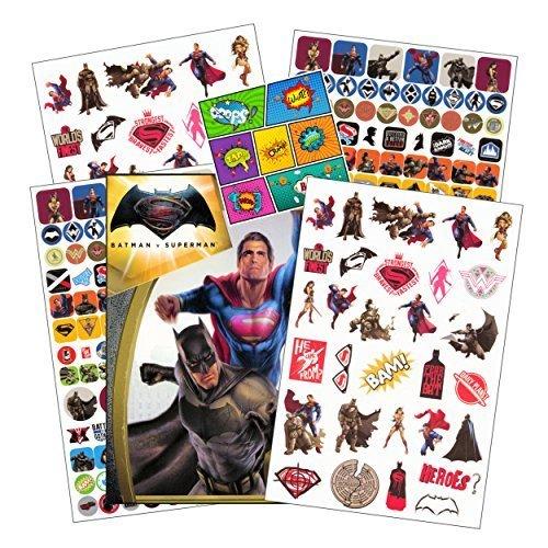 DC Comics Batman v Superman: Dawn of Justice Stickers, 300 Pieces]()