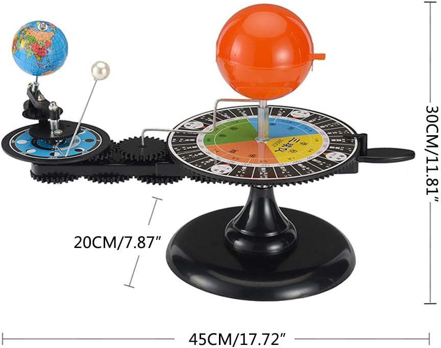 Faguo Sistema Solar Sol Tierra Luna Planetario Orbital Modelo Educaci/ón Herramienta de ense/ñanza