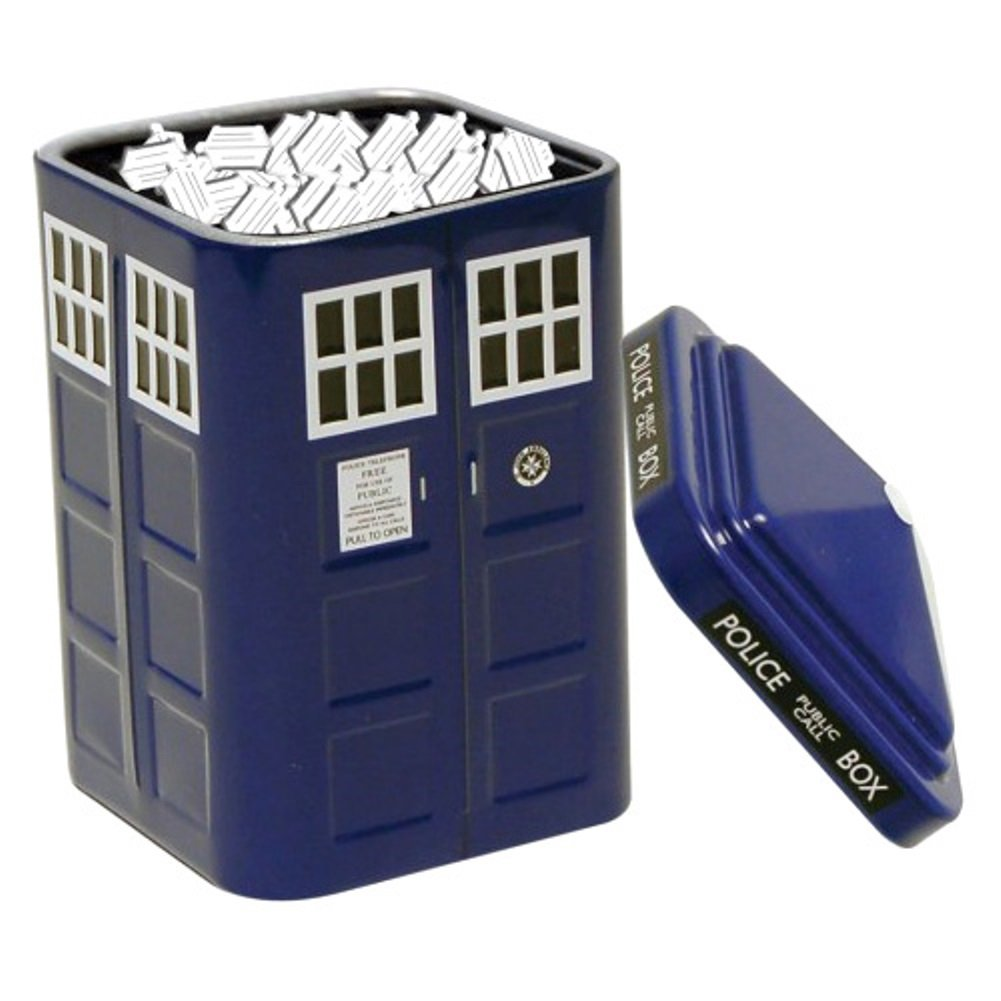 Doctor Who Tardis Mints In Collectible Tin