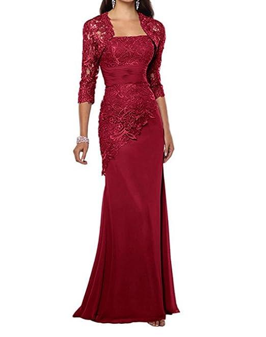 7628b9012 Alice Dressy lungo abiti eleganti da matrimonio per madre della sposa, abito  taglie forti UK per ballo di fine anno: Amazon.it: Abbigliamento