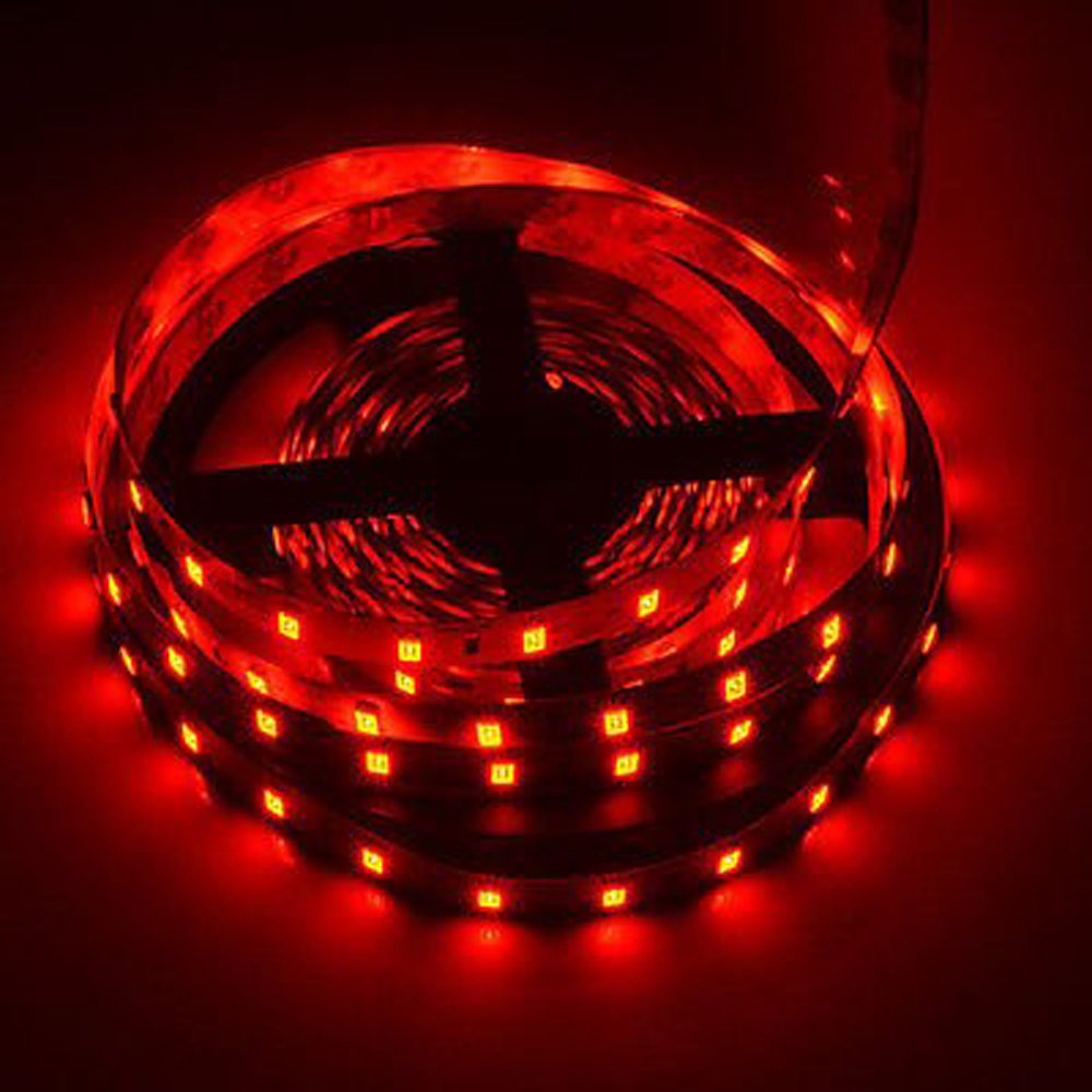 1-5M 12V SMD 3528 5050 Multi Color Non-Waterproof or Waterproof LED Strip Light (1M 3528 NonwaterProof, Warm White) wishshop