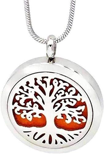 Essential Oil Diffuser Necklace alloy black plain Aromatherapy Locket Pendant