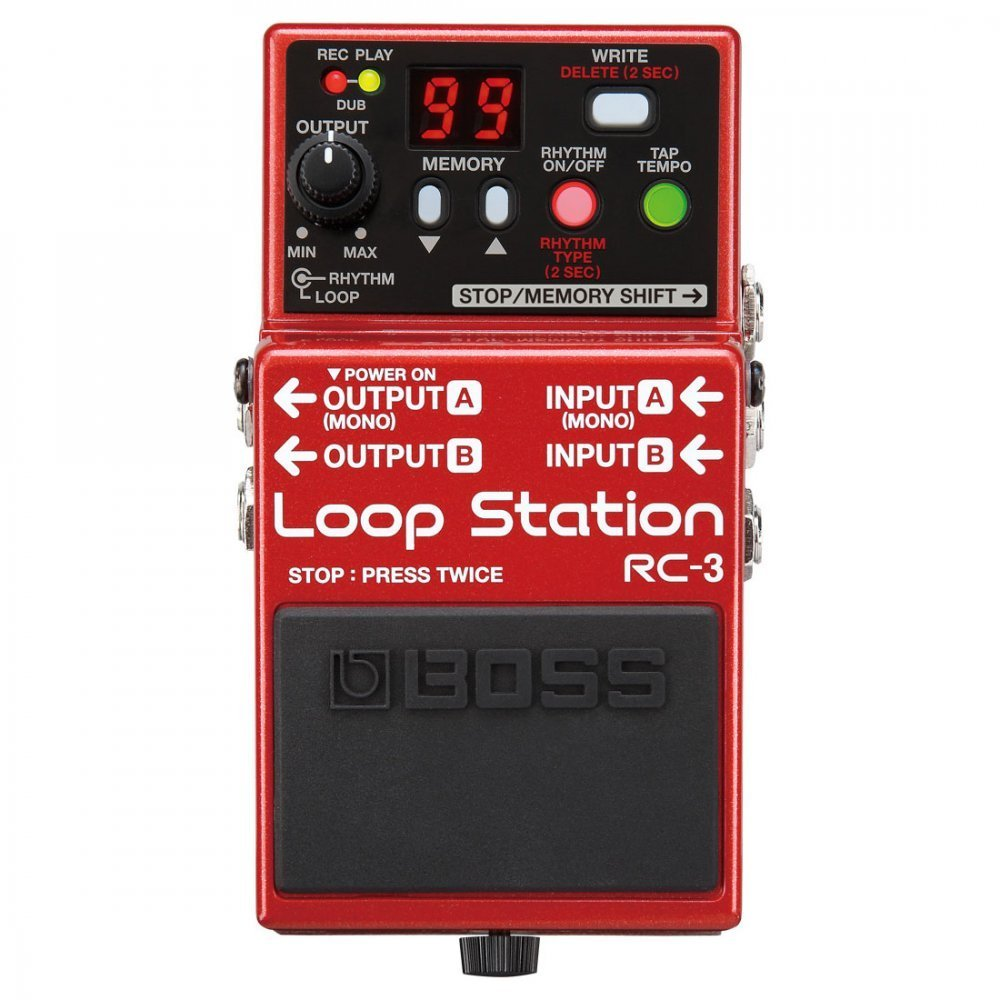 BOSS Audio RC-3 Loop Station Pedal by BOSS (Image #3)