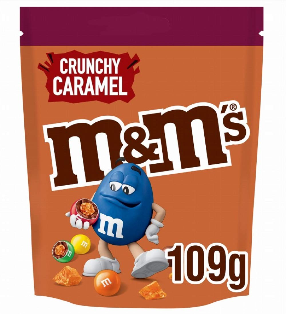 M&M's Crunchy Caramel Limited Edition Pouch, 109 g