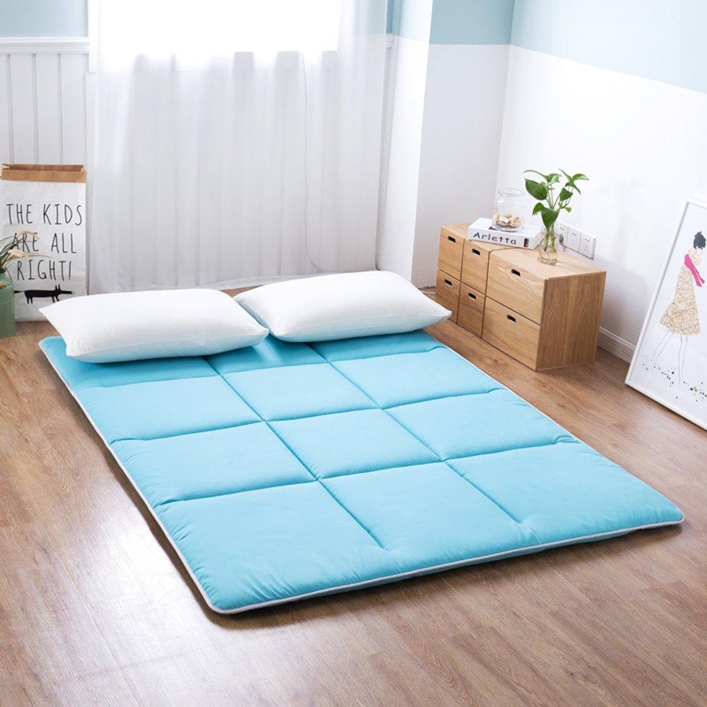 GX&XD Thicken Folding mattress,Tatami floor mat Floor lounger cover Floor mattress Mattress Twin pads dorm room Floor Sleeping pad-C 135x200cm(53x79inch)