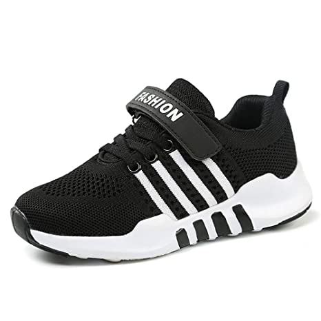 101b856e7dad3 Amazon.com: FCSHOES Velcro Kids Shoes 2019 Spring Autumn Breathable  Children Sneakers Fashion Boys Girls Casual Shoes: Sports & Outdoors