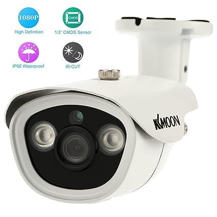 KKmoon AHD Cámara de Vigilancia (2.0MP, 1080P, 3.6mm Lente, CCTV