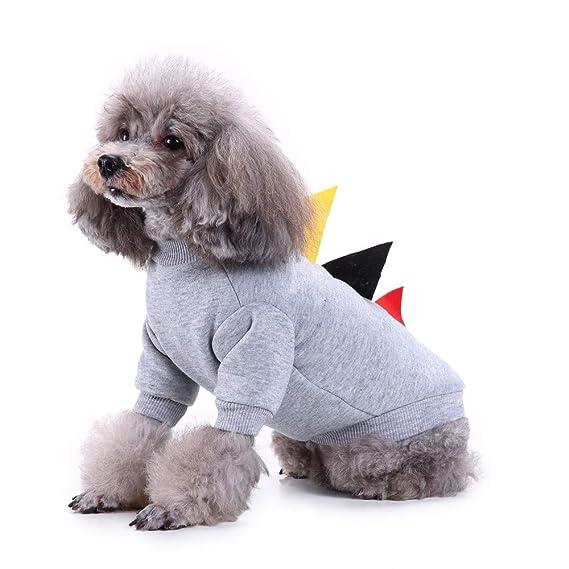 Fossrn Invierno Mascotas Perro Gato Sudaderas Abrigo Cachorro Ropa Perro Pequeño Yorkshire Toy Chihuahua Mini: Amazon.es: Productos para mascotas