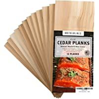 12 Pack Cedar Planks for Grilling Salmon and More