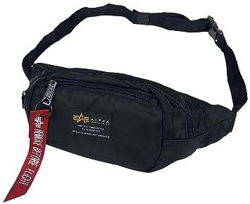 kosten charm Waren des täglichen Bedarfs Outlet zu verkaufen Alpha Industries Crew Waistbag Gürteltasche schwarz