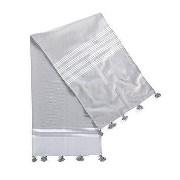Amazon.com: kuprum Rodas 100% algodón turco Peshtemal 39