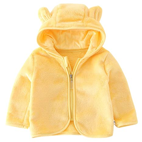 Bebé Chaqueta con Capucha Abrigo Polar Chaqueta Deportivas ...