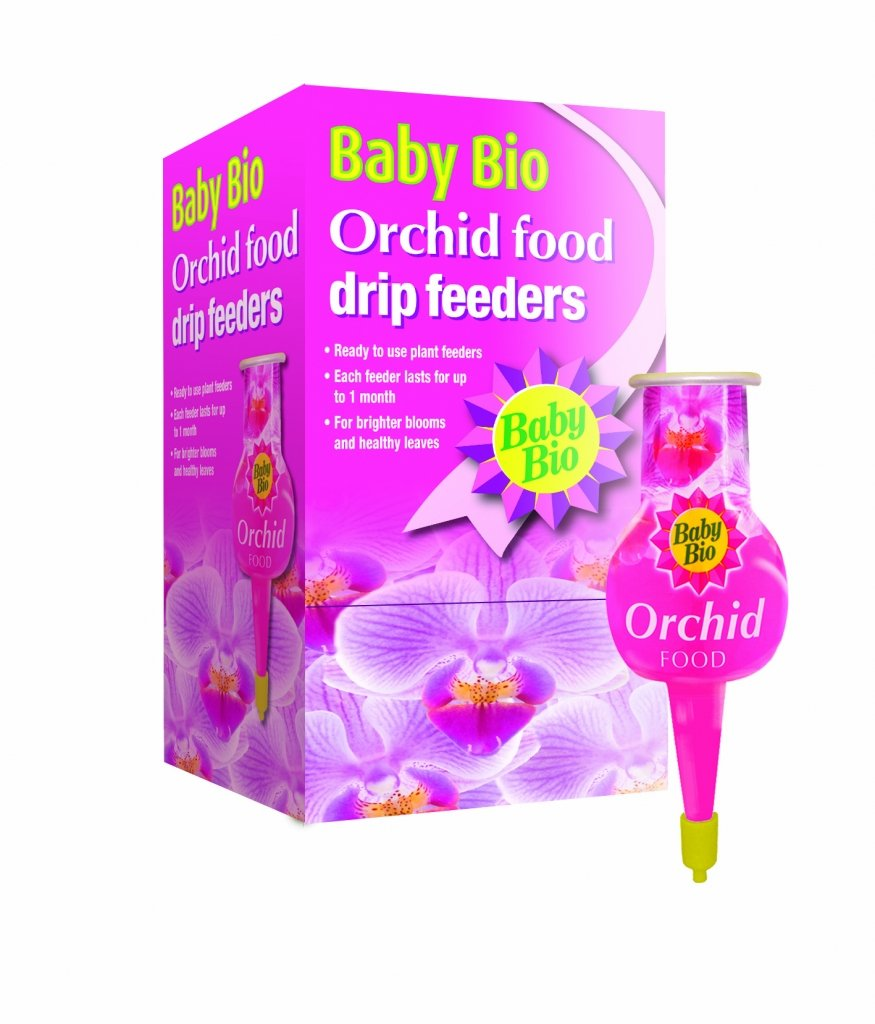 Baby Bio Orchid Drip Feeders 40ml 314392 Amazoncouk