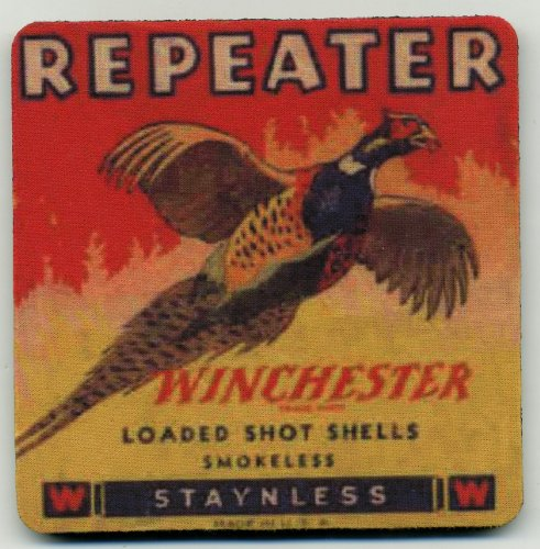 Winchester Repeater  Coaster Set - Shot Shells - Pheasant Hunting