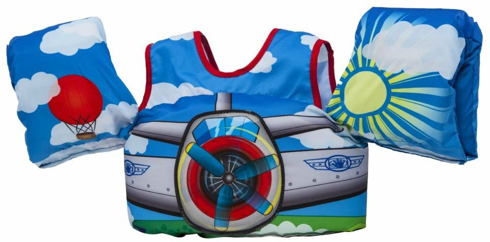 Body Glove Paddle PalsLearn to Swim Life Jacket, The Safest U.S. Coast Guard Approved Learn-to-Swim Aid