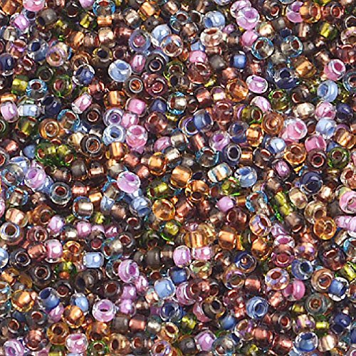 General 10/0 C/L Earthtones Czech Seed Beads 40 Grams ()