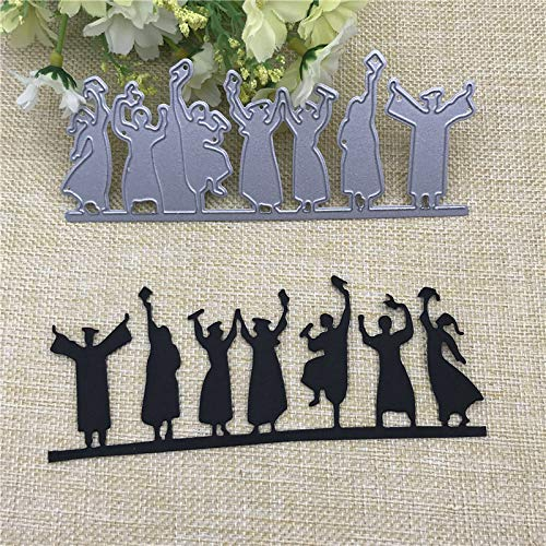 5.5x2.2inch Graduates 2019 New Die Cuts Metal Cutting Die Craft Die for Scrapbooking Card Making