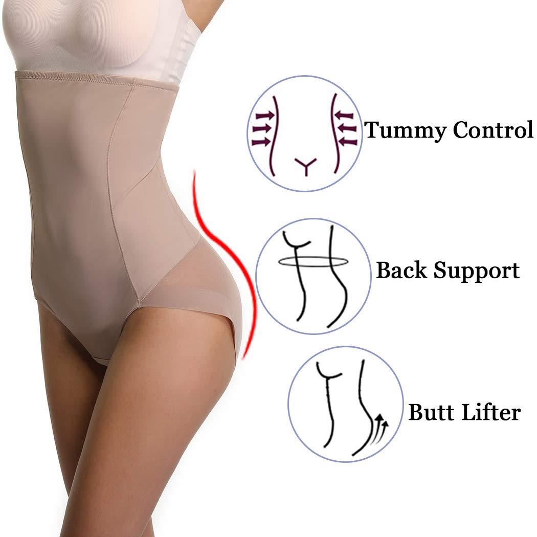 50c645081b Joyshaper High Waisted Control Knickers Women Slimming Briefs Tummy Waist  Cincher Girdle Trimmer Trainer Butt Lifter Panties Underwear Mesh Body  Shaper ...