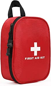 WEWAK Portable First Aid Kit -120 Piece, Emergency Bags,Lightweight for Emergencies at Home, Outdoors, Car, Camping, Workplace, Hiking