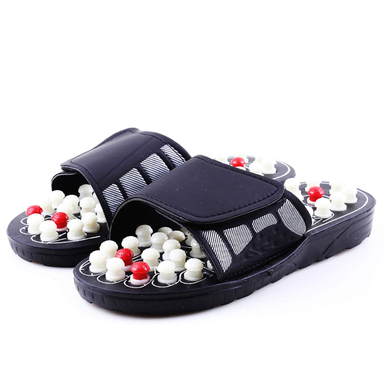 b61a8d7d35da1 Amazon.com | Sonjer Acupoint Massage Slippers Sandal for Men Feet ...