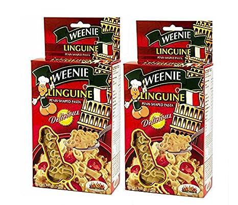 Amazon.com: Weenie Linguine - Pasta en forma de penne, Como ...